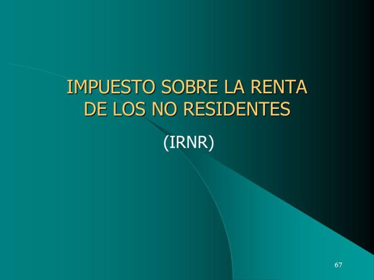 (IRNR)